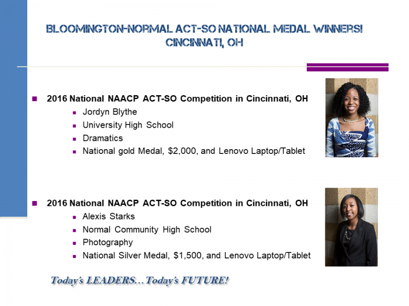 National Medalists